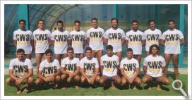 Primer equipo de Club Waterpolo Sevilla