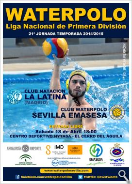 Club Waterpolo Sevilla vs CN La Latina (Madrid)