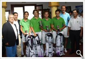 Equipo del Real Club de Golf de Sevilla