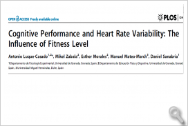 Cognitive Performance and Heart Rate Variability: The Influence of Fitness Level