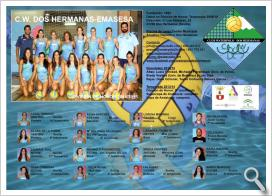 Turno para las guerreras del Club Waterpolo Dos Hermanas-EMASESA