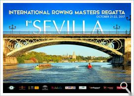 Programa de actos de la Sevilla International Rowing Masters Regatta