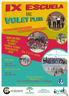 IX ESCUELA DE VOLEY PLAYA