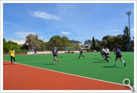 Universidad de Sevilla. Hockey hierba femenino - J.17 (CD US-Junior FC)
