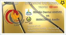 Previa Rincón Dental AMIVEL vs Iberconsa AMFIV